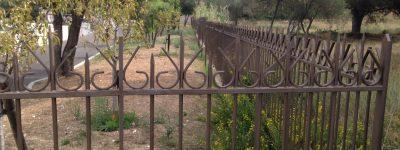 Lot métallerie : Clôture cimetière de Giens (83)