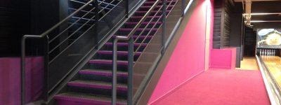 Escalier, Bowling de Saint-Maximin (83)