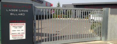 Portail, Bowling de Saint-Maximin (83)